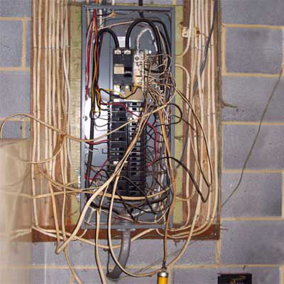 Electricity wiring issues