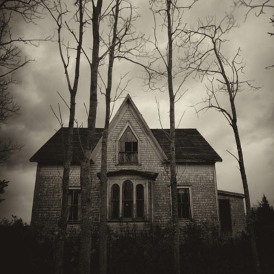 Old, abandoned home