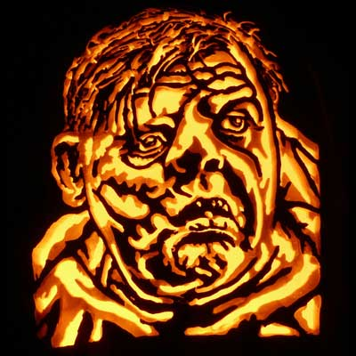 quasimodo carved pumpkin for contest