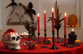 DIY Halloween Party Decorations: Salvage-Style