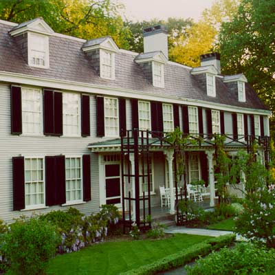 the old house of john and abigail adams in massachusetts