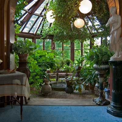 the conservatory of the mark twain house of hartford connecticut