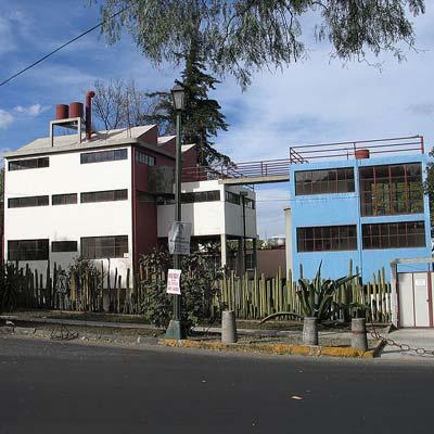 estudio casa museum of frida kahlo and diego rivera