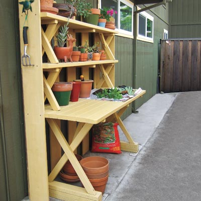 July Turn A Picnic Table Into A Potting Bench Unpublished A Year 39 S Worth Of Smart Home