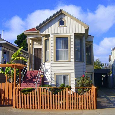 a house in the West End, Alameda, California