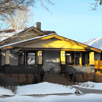 house located in The London Road Neighborhood, Lethbridge, Alberta, Canada