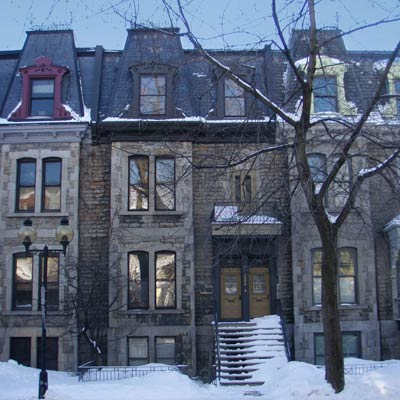 home located in Le Plateau Mont-Royal, Montreal, Quebec, Canada