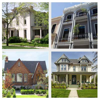 best old house neighborhoods for college towns