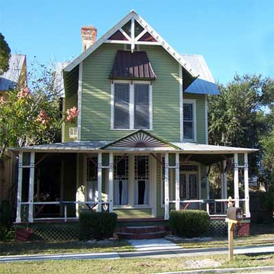a house in the South Historic District, Palatka, Florida