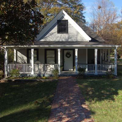 a house in Whittier Mill Village, Atlanta, Georgia