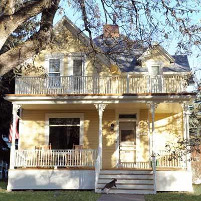 a house in Bozeman, Montana