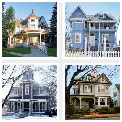 best old house neighborhoods victorian era houses
