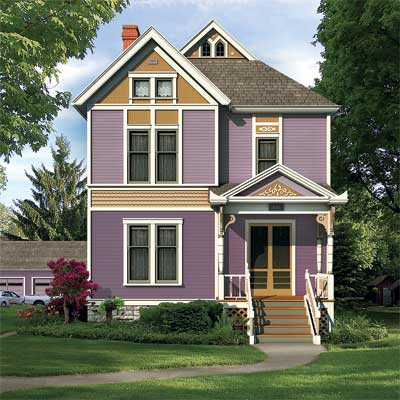 victorian house digitally repainted for a this old house photoshop redo
