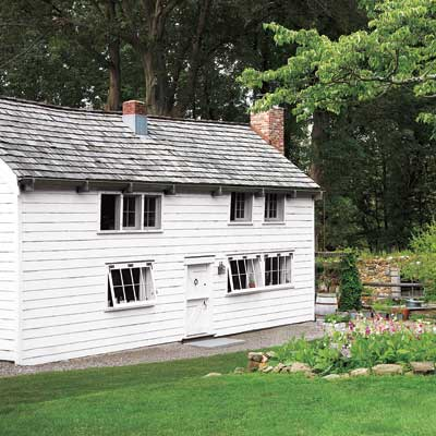remodeled farmhouse carriage house