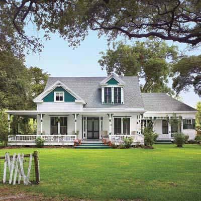 remodeled farmhouse exterior