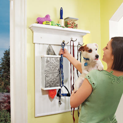 Wall-Mounted Pet Organizer