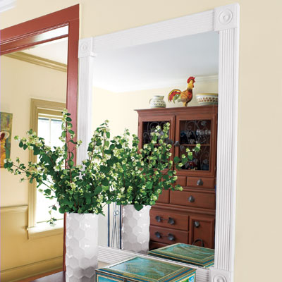 Mirror From Case Molding