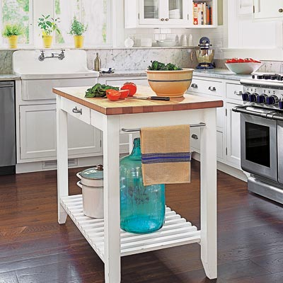 a kitchen island