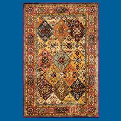 Indian made, Persian designed oriental rug from Safavieh Home Furnishings