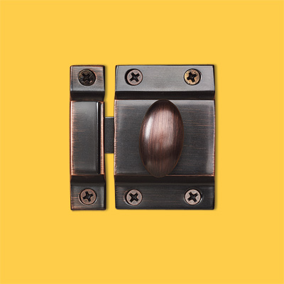 decorative vintage cabinet latch by top knobs