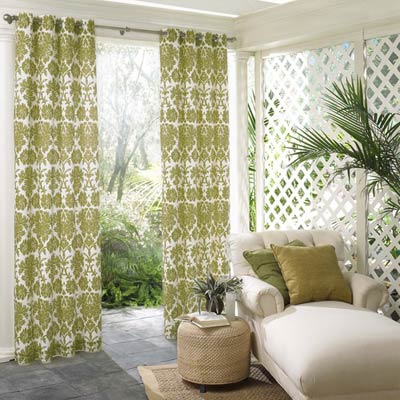 How To Make An Outdoor Fabric Privacy Screen