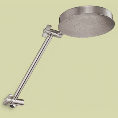 Articulating showerhead