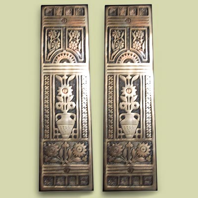 Decorative push plate