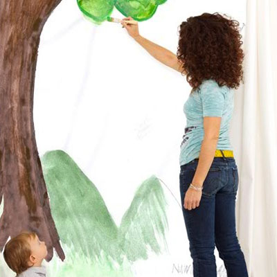 Paint a kid's mural