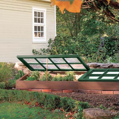 Use a cold frame for gardening