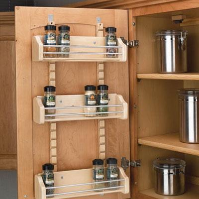 Organize spice jars