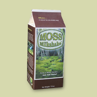 Container of moss grower