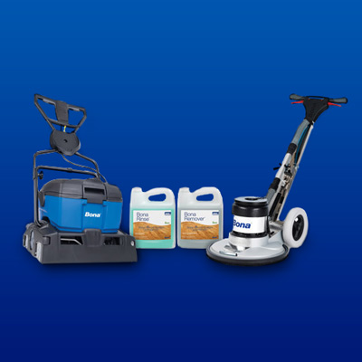 floor refinishing system