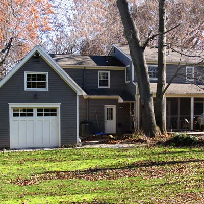 Pittsford, NY reader remodel for curb appeal after