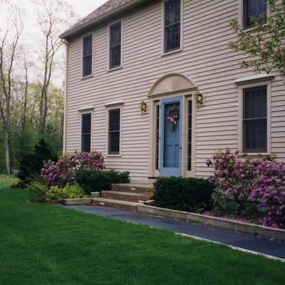 Sterling, Mass reader remodel for curb appeal before
