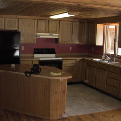 unfinished reader remodel kitchen