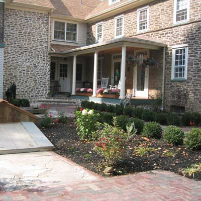 reader yard remodels