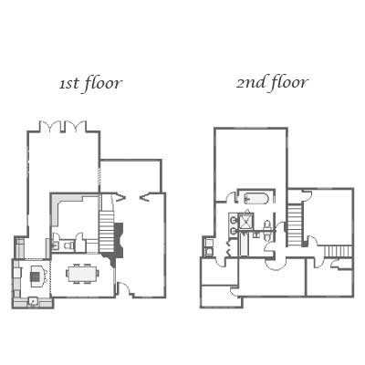 Floor plans for this Orlando colonial home