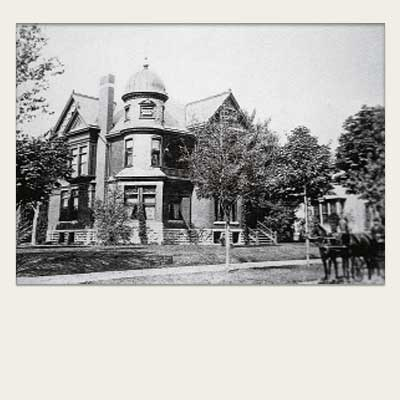1896 photo of this saginaw michigan queen anne victorian from save this old house