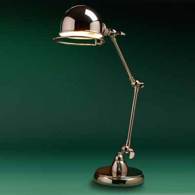 nickel plated industrial pharmacy lamp