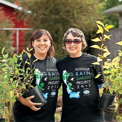 more of the people who plant rain gardens to help you plan