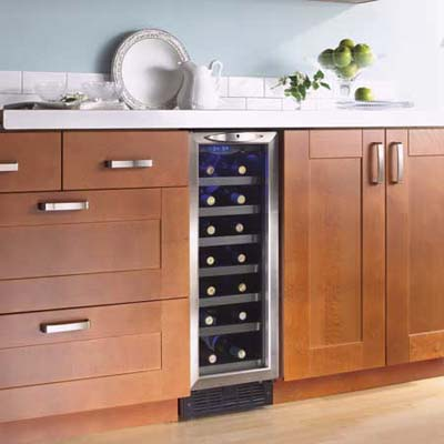 Compact wine fridge from Danby