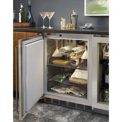 Undercounter freezer from Perlick