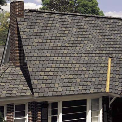 Fiberglass based asphalt shingles fire resistant roofing for Fire resistant roofing