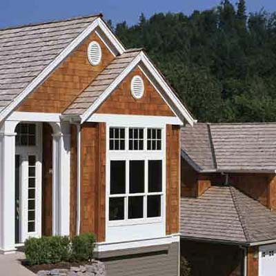 Treated wood fire resistant roofing and siding this for Fire resistant house siding material hardboard