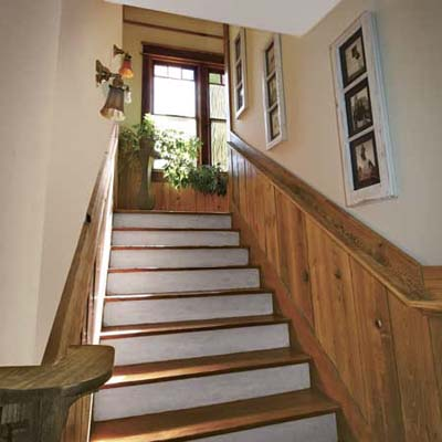 Upgraded Staircase: After