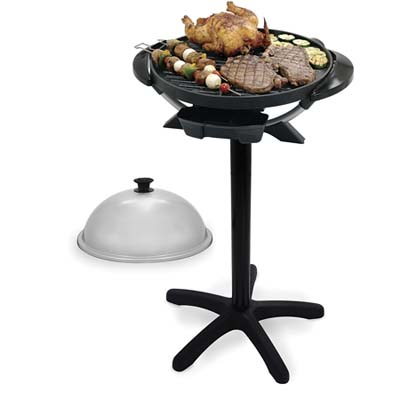 George Foreman Indoor-Outdoor Round Dome Grill
