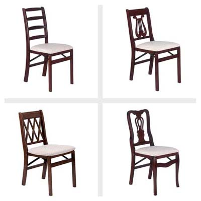 Hardwood Folding Chairs by Stakmore