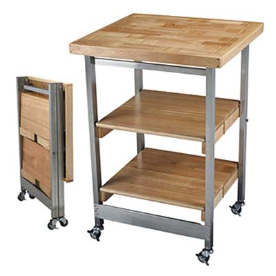 Folding Kitchen Islands from Space San Diego