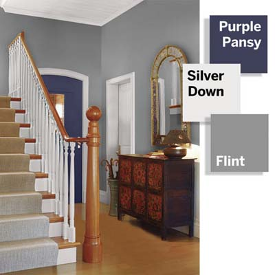 color combination for entry foyer