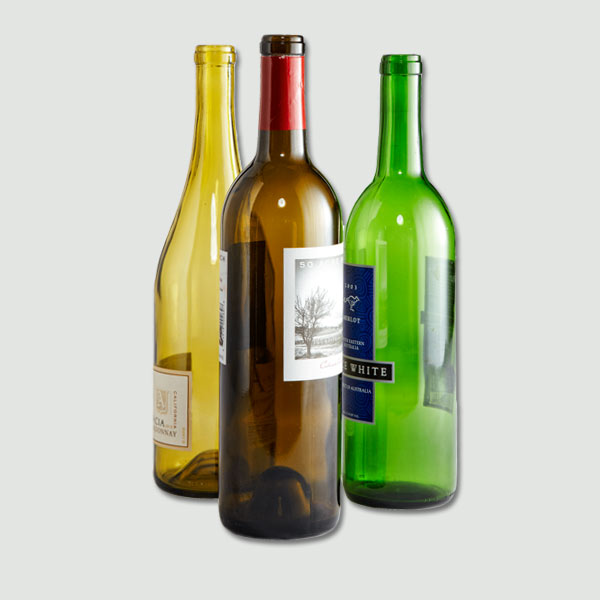 small empty wine bottles images